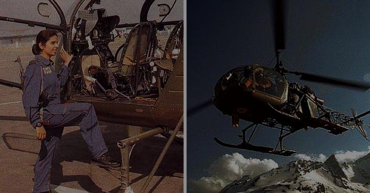 Gunjan Saxena helicopter