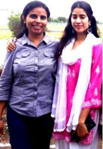 Janhvi with Gunjan Saxena