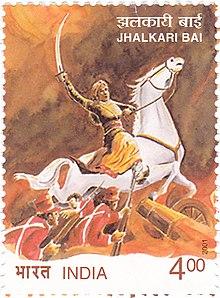 Jhalkari Bai Postal Stamp