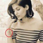 Shreya Dhanwanthary Tattoo