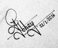 Abhay Jodhpurkar Signature