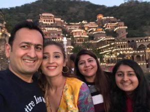 Dhvani Bhanushali Family