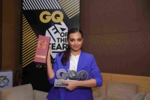 Radhika Apte with GQ Award