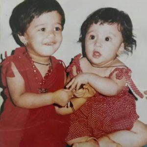 Anita date childhood image