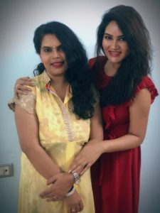 Kamna Pathak with her Sister