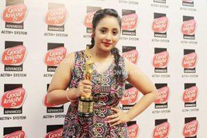 Rani Chatterjee Popular Actress Award Bhojpuri International Film Awards
