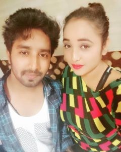 Rani Chatterjee With Her Brother