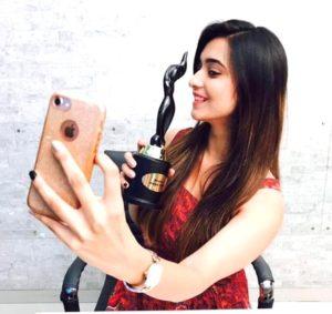 Shivani Surve with Awards