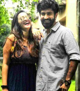 Shivani Surve with her Boyfriend Ajinkya Nanaware
