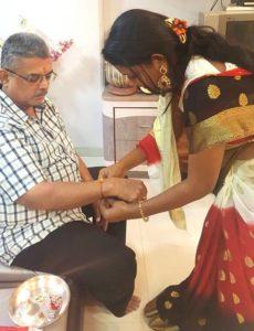 Vaishali Mhade father