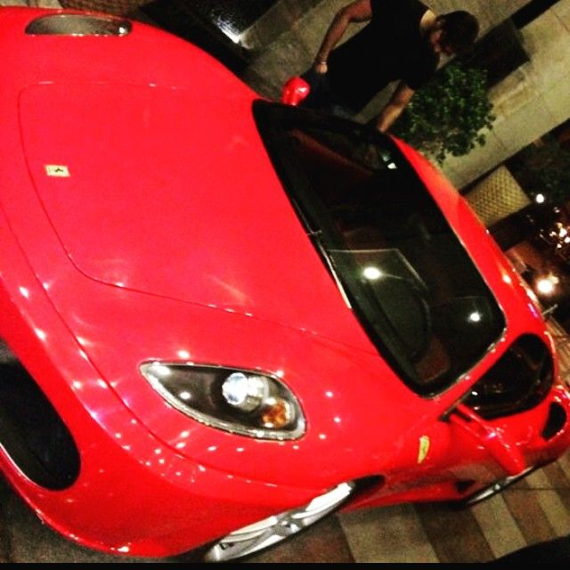 Arhaan khan favorite car Ferrari