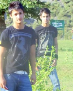 Asim Riaz With His Brother