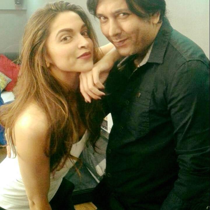 Siddhartha Dey with Priyanka Chopra