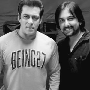 Siddhartha Dey with Salman khan