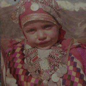 Himanshi Khurana Childhood Pic