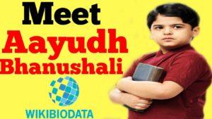 Aayudh Bhanushali