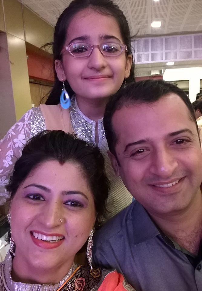 Aayudh Bhanushali family