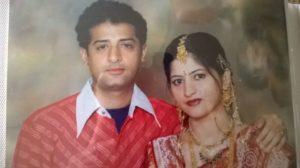 Aayudh Bhanushali parents