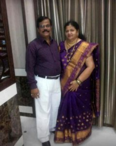 Prasad Jawade parents