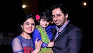 Saisha Bajaj with her family