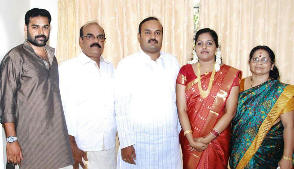 Pradeep Chandran family