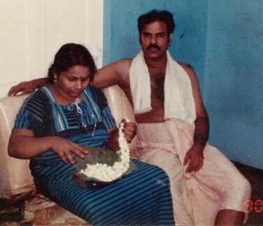 Pradeep Chandran parents
