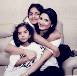 Shardul Singh Bayas wife and daughters