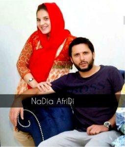 Nadia Afridi with her husband