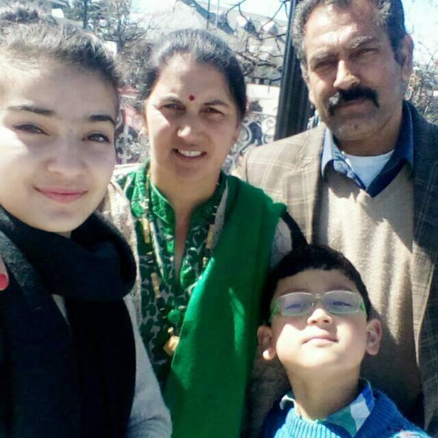 Pratibha Ranta with her family