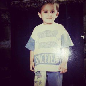 Adnaan Shaikh childhood pic