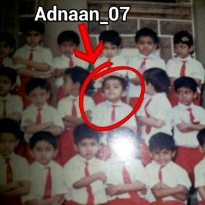 Adnaan Shaikh school pic