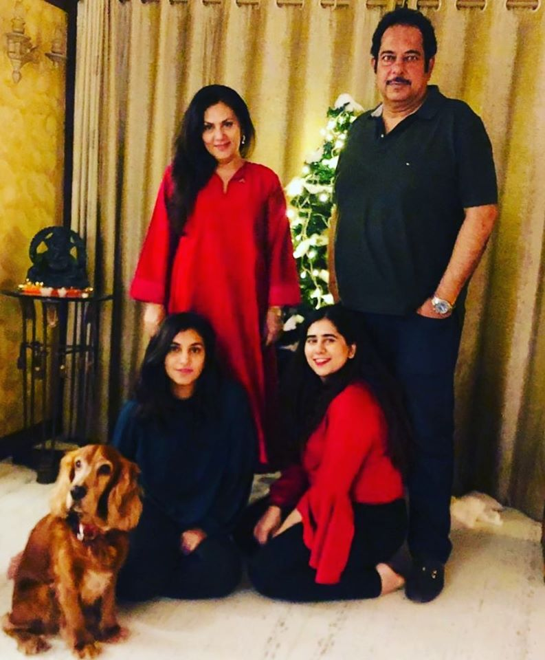 Deepika Chikhalia with her family