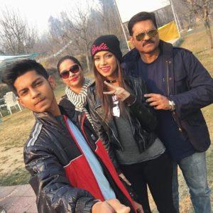 Nagma Mirajkar with her family