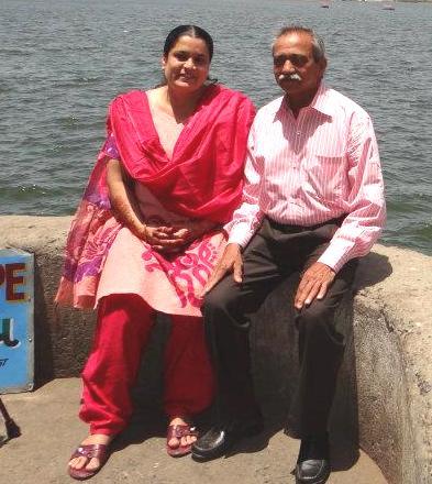 Naved Qureshi parents