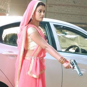 Nidhi Jha in Telugu tv show Agnisakshi