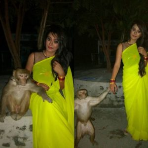Nidhi Jha is animal lover