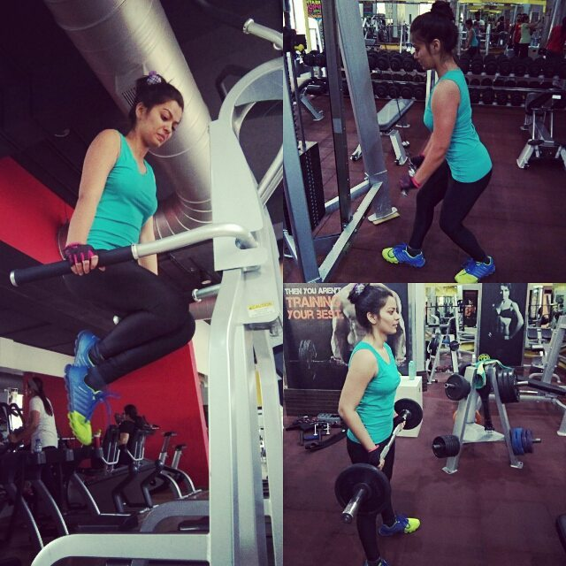 Nidhi Jha is fitness freak