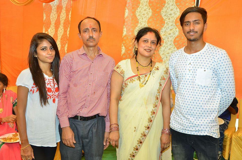 Nisha Guragain family