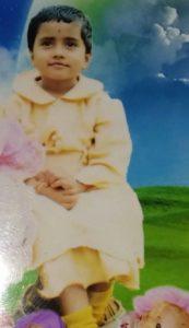 Nisha Guragain childhood pic