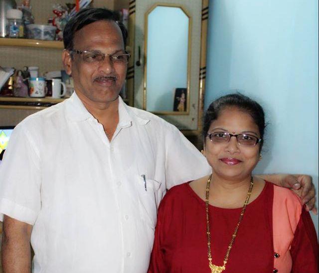 Sonal Vichare parents