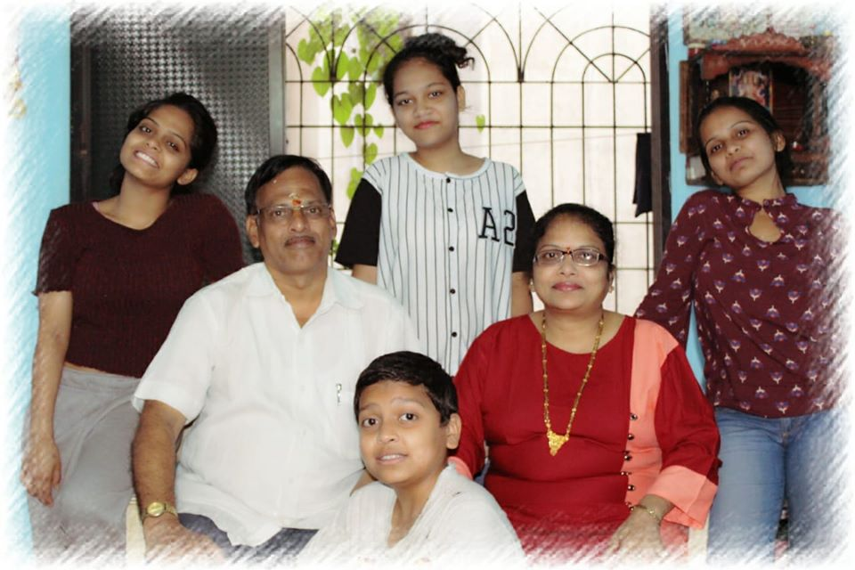 Sonal Vichare with her family