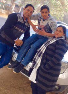 Tehraan Bakshi parents and brother