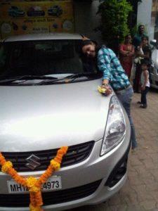 Anuja Sathe car