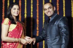Anuja Sathe engagement pic