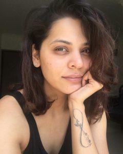 Anuja Sathe tattoo