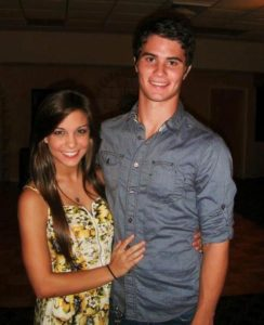 Chase Stokes with his girlfriend Xio