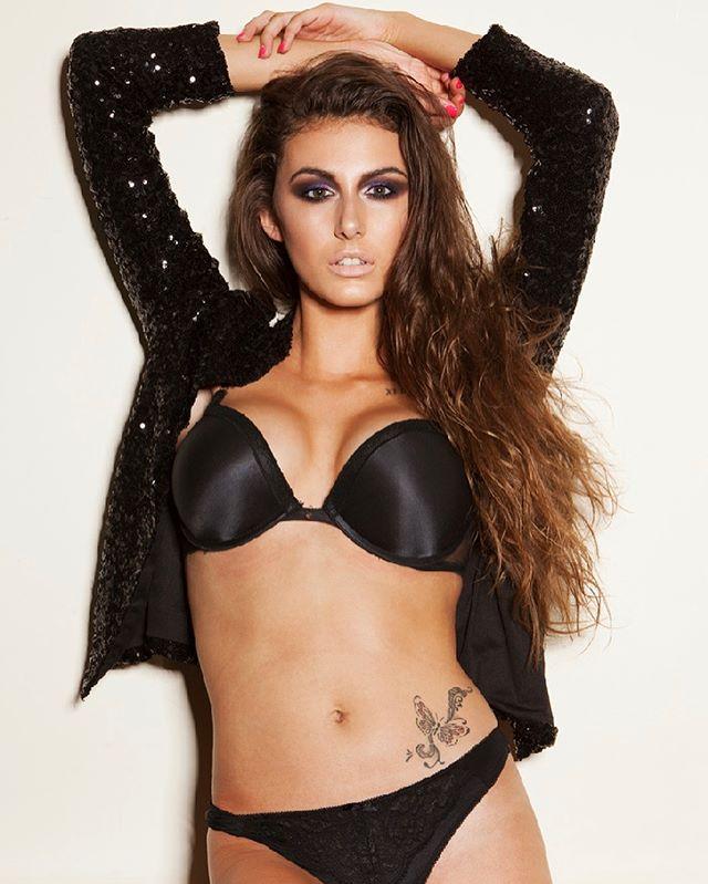 Chloe Veitch butterfly Tattoo