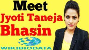 Jyoti Taneja Bhasin
