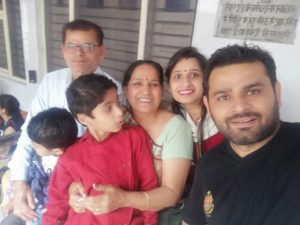Jyoti Taneja Bhasin family