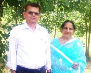 Jyoti Taneja Bhasin parents